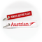 Keyring AUA Austrian Airlines / Remove Before Flight (red)