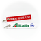 Keyring Alitalia (white/red)