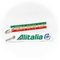 Keyring Alitalia / Remove Before Flight (Italian Flag Style)