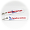Keyring Canadian Airlines / Remove Before Flight