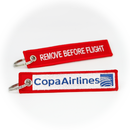 Keyring Copa Airlines / Remove Before Flight