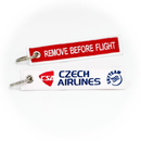 Keyring Czech Airlines / Remove Before Flight
