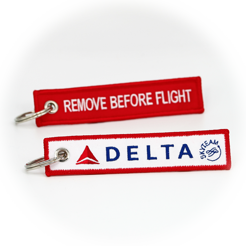 Keyring Delta Air Lines / Remove Before Flight
