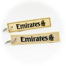 Keyring Emirates Airlines / Remove Before Flight (gold)