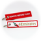 Keyring Emirates Airlines / Remove Before Flight (red)