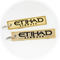 Keyring Etihad Airways / Remove Before Flight (gold)