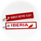 Keyring IBERIA / Remove Before Flight (current logo)