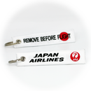 Keyring JAL Japan Air Lines / Remove Before Flight
