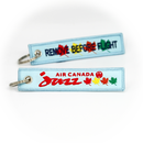 Keyring Air Canada JAZZ / Remove Before Flight