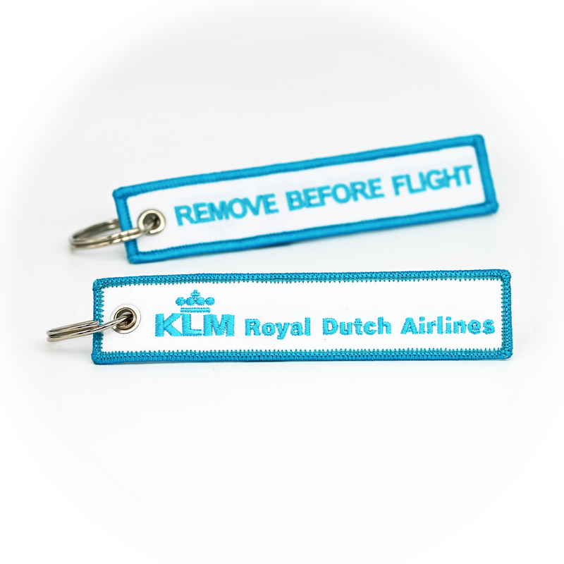 Keyring KLM / Remove Before Flight