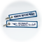 Keyring Kuwait Airways / Remove Before Flight
