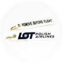 Keyring LOT Polish Airlines / Remove Before Flight