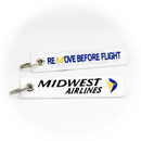 Keyring Midwest Airlines / Remove Before Flight