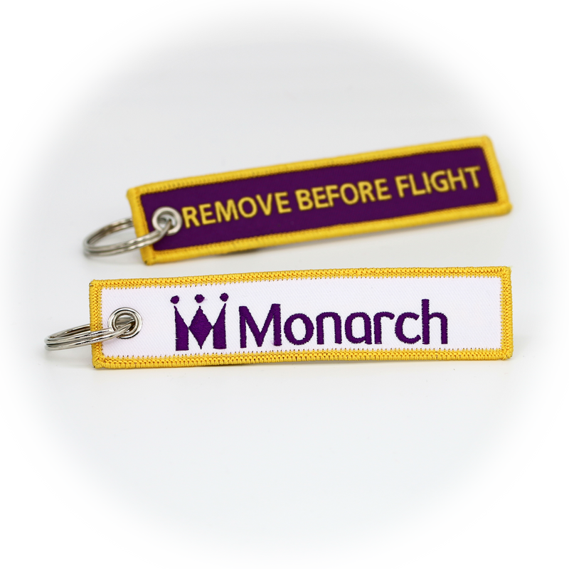 Keyring Monarch / Remove Before Flight