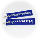Keyring Olympic Airways / Remove Before Flight
