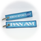 Keyring Pan Am / Remove Before Flight (blue)
