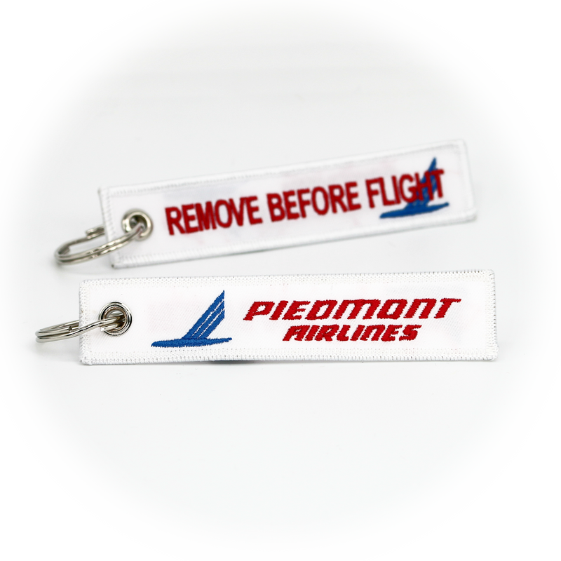 Keyring Piedmont Airlines / Remove Before Flight