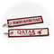Keyring Qatar Airways / Remove Before Flight
