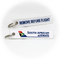 Keyring SAA South African Airways / Remove Before Flight