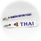 Keyring Thai Airways / Remove Before Flight (white)