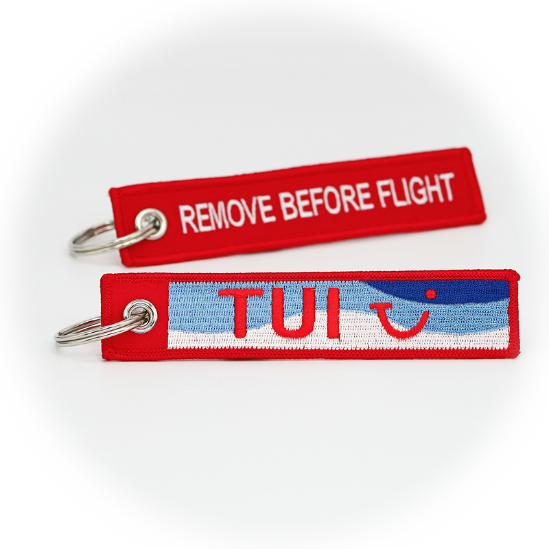 Keyring TUI Airways / Remove Before Flight