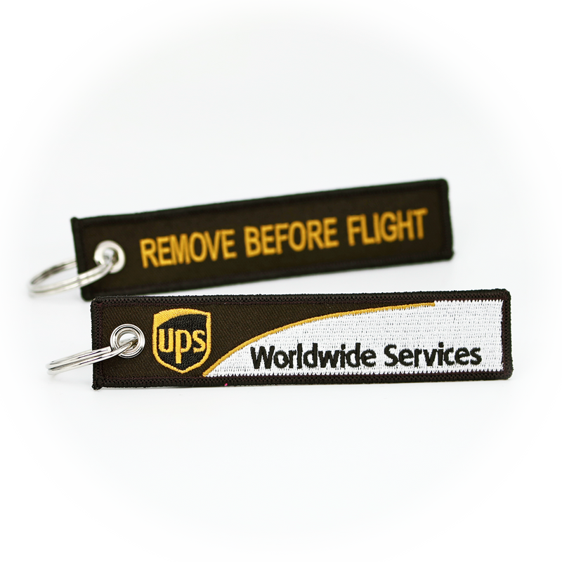 Keyring UPS Airlines / Remove Before Flight