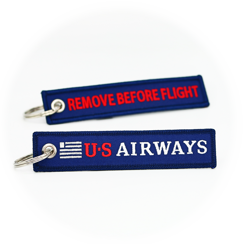Keyring US Airways / Remove Before Flight