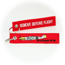 Keyring Messerschmitt Bf 109 WW2 BF109/ Remove Before Flight