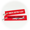 Keyring Bombardier CSeries / Remove Before Flight (white plane)