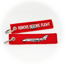 Keyring Bombardier Global Express / Remove Before Flight