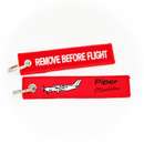Keyring Piper Malibu PA-46 / Remove Before Flight