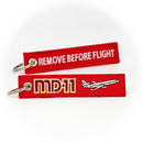 Keyring McDonnell Douglas MD11 / Remove Before Flight (plane)