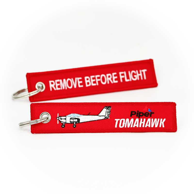 Keyring Piper PA-38 Tomahawk / Remove Before Flight