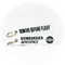 Keyring Bombardier Aerospace / Remove Before Flight (white)