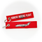 Keyring Bombardier Challenger 300 / Remove Before Flight