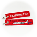 "Keyring De Havilland Canada DHC-8-400 ""Dash 8 Q400"" / Remove Before Flight"