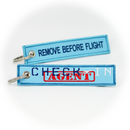 Keyring Check-In Agent / Remove Before Flight