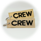 Keyring CREW (gold/black)