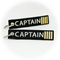 Keyring CAPTAIN (black/gold)