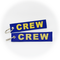 Keyring CREW (blue/gold)