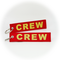 Keyring CREW (red/gold)