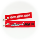 Keyring Agusta Westland AW109 A109 / Remove Before Flight