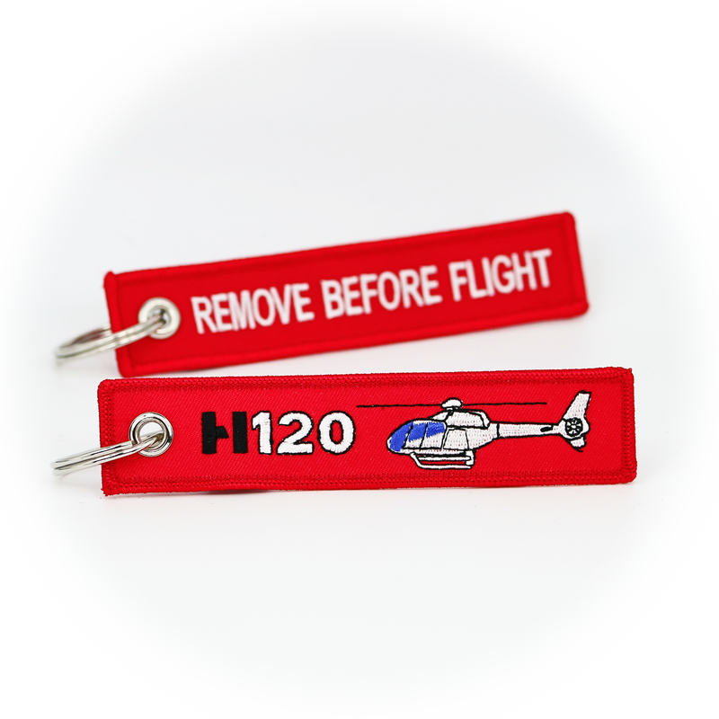 Keyring Airbus Helicopters H120 Colibri / Remove Before Flight