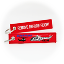 Keyring Super Puma Helicopter / Remove Before Flight