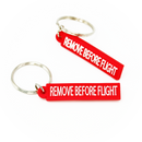 Mini Keyring Remove Before Flight (PVC, small size)