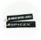 Keyring Spacex / Remove Before Launch (black)