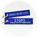 Keyring ETOPS - Engines Turn or People Swim / Remove Before Flight