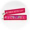 Keyring Flygirl / Remove Before Flight (pink/gold)
