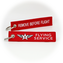 Keyring Flying Service / Remove Before Flight
