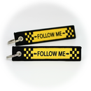 Keyring Follow Me (double sided)